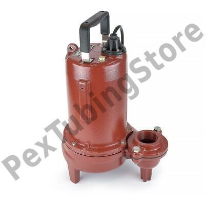 Manual Sewage Pump 25 Cord 34 Hp 2 Discharge 115v