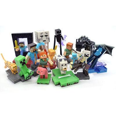 Minecraft Enderdragon Enderman Spider Jockey 10 PCS Action Figure Doll Gift Toys