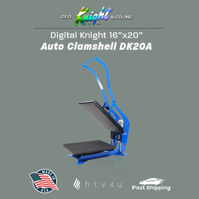 Geo Knight Dk20a Clamshell Heat Press