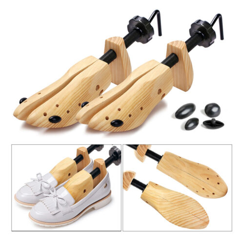 2 x womens shoe stretchers tree wooden shaper bunion