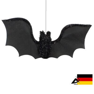 1x DEKO FLEDERMAUS Halloween Horror Party Fest Fledermaus - Fledermaus Dekorationen