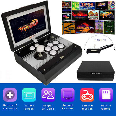 Newest 10'' Foldable 2448 in 1 Pandora's Box 3D Arcade Game 134 3D 2314 2D Games