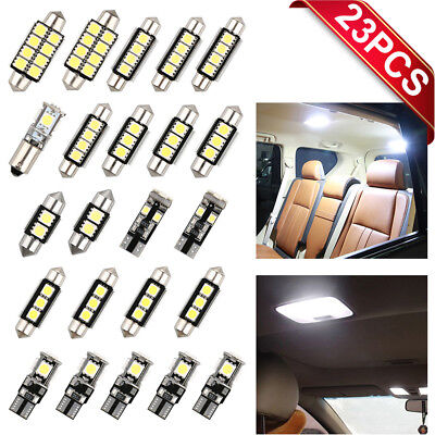23x Led Car Inside Lights T10 &31mm Map Dome License Plate Light Bulbs FREE SHIP