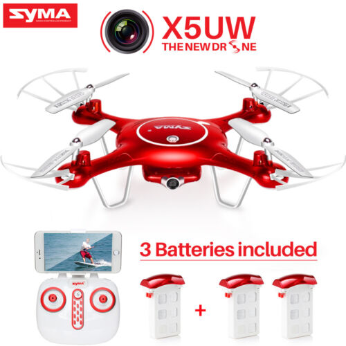SYMA X5UW RC Drone With HD Camera Wifi FPV Remote Control 2.4 Ghz Helicopter