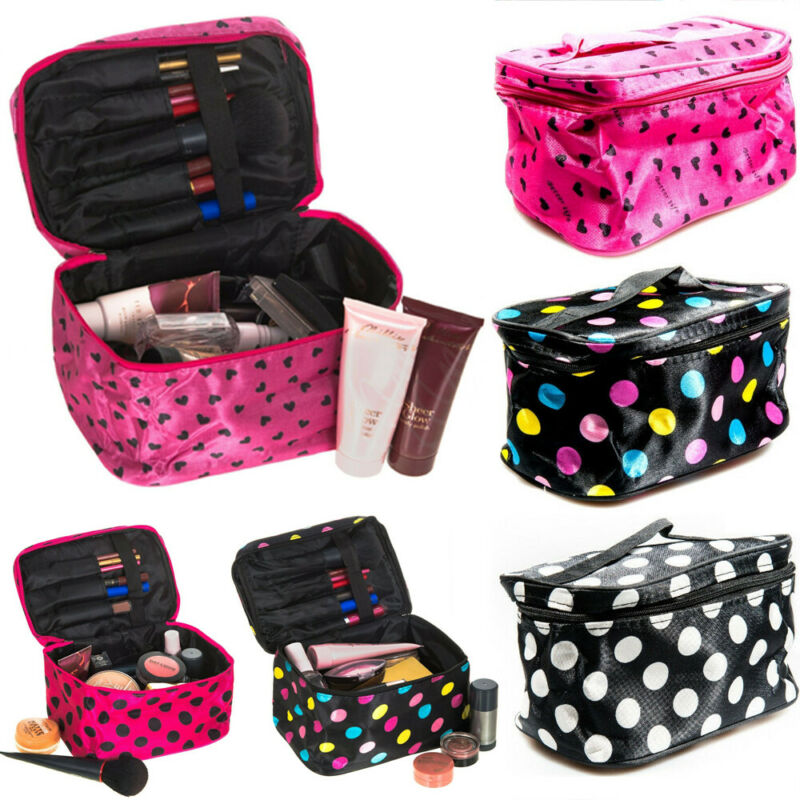 Women Foldable Large Capacity Waterproof  Makeup Bag-Cosmeti