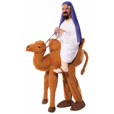 Adult Ride A Camel Arabian Halloween Costume](Arab Costume Halloween)