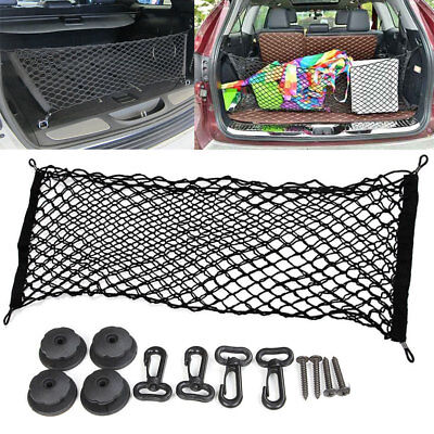 For 2011-2018 Jeep Grand Cherokee Cargo Net Envelope Style Trunk Rear Organizer ()