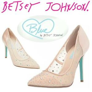 2876de6bcff NEW Betsey Johnson Blue Womens SB-Rubie Heeled Sandal Condtion  New