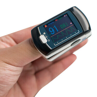 Medical Color Oled Fingertip Pulse Oximeter With Blue Tooth Function Monitoring