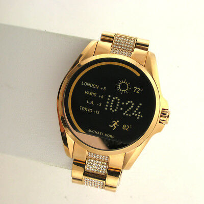 Michael Kors Access Touchscreen MKT5018 Bradshaw Smartwatch Stainless Rose Gold for sale  Shipping to India