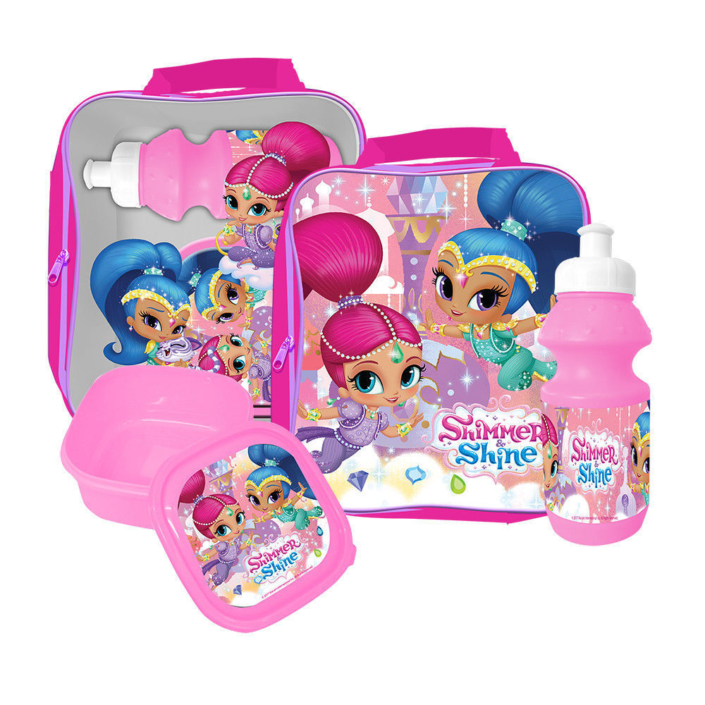 Shimmer and Shine Hair Accessories Set Of 8pcs,Gift Set,Official Licensed.