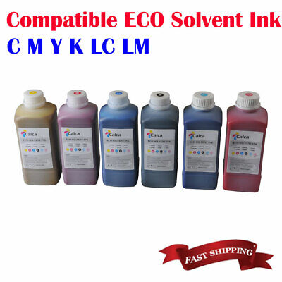 Calca Compatible Mimaki Eco Solvent Ink For Roland Mimaki 6colors