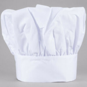 a4294824c74 CHEF HAT WHITE CLOTH ONE SIZE FIT ALL