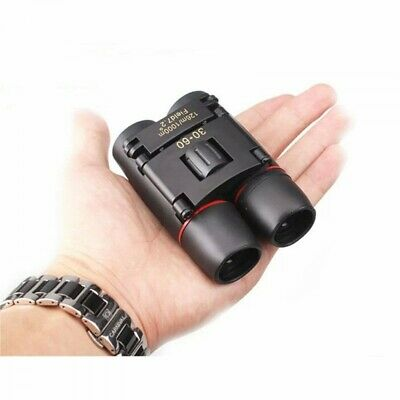 Day & Night Vision 3 x60 ZOOM Mini Compact Foldable Binoculars **UK FAST POST**