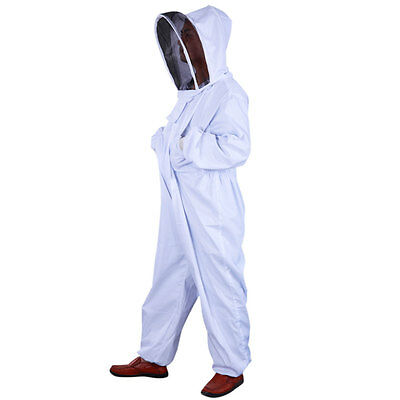 New Professional Beekeeping Beekeeper Full Body Suit Smock Pest Control Veil Xxl