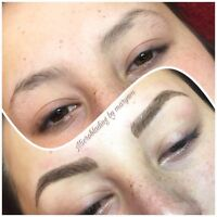 Microblading eyebrows ($100 off ‼️February promotion)