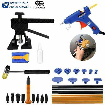 35 Pcs Paintless Car Body Hail Damage Dent Remover Repair Kit Dent Puller Tools