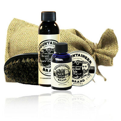 Mountaineer Brand Complete Beard Care Kit Original Scent