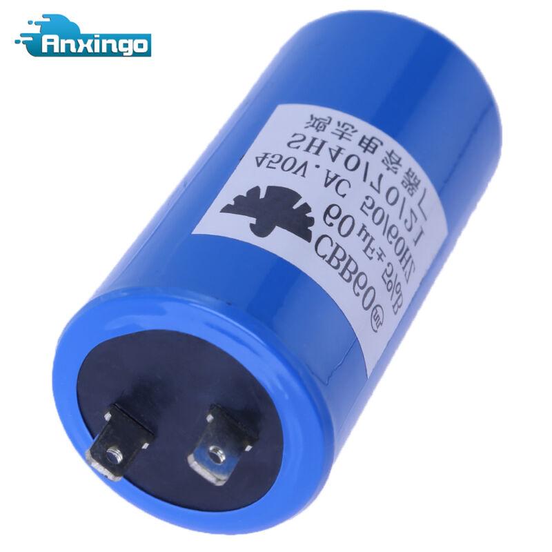 Run Capacitor CBB60 450VAC 450V AC 60uF 60 uF 60MFD , 50/60Hz , W/Fixing stud