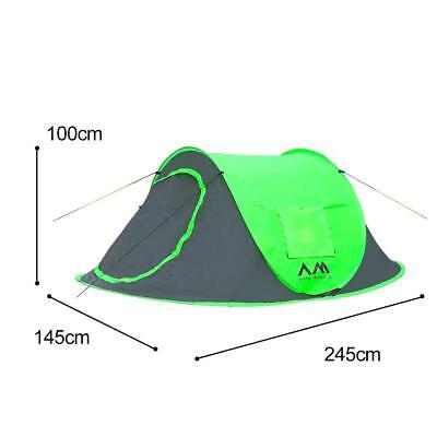 Pop-Up Zelt 2 Personen Zelt Artic Monsoon  Zp1805 grün