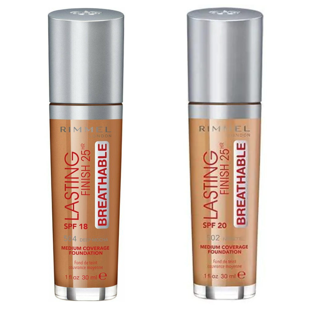 Rimmel Lasting Finish 25HR Breathable Foundation - 30ml - Choose Shade