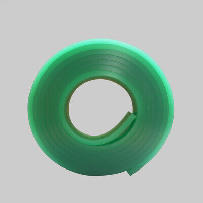 """12 FT / 144""""  70 Duro Durometer silk screen printing squeegee blade - Green"""