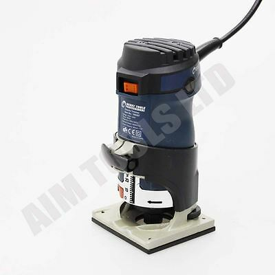 """Merry Professional Electric Trimmer Hand Router  6MM & 1/4"""" 600W UK Plug"""