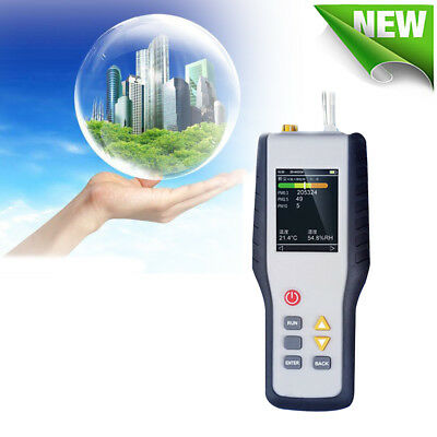 Pm2.5 Detector Particle Counter Dust Air Quality Temperature Humidity Meter 50s