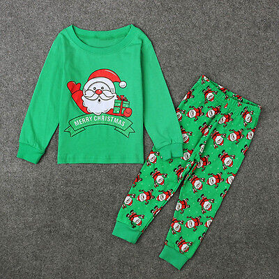 Baby Kids Girl Boy Outfit Christmas Santa Claus - Baby Santa Claus Outfit