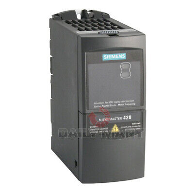 Used Tested Siemens 6se6420-2ud21-5aa1 Mm420 Frequency Inverter Drive 1.5kw