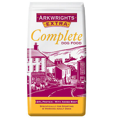 Arkwrights Complete Extra Beef Dog Food 12.5kg