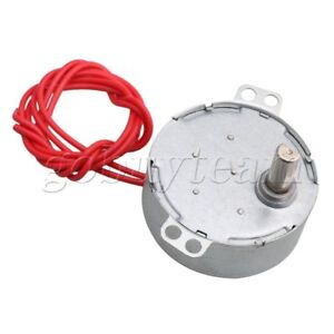 AC 12V Undirectional Christmas Tree Synchronous Motor 4-5rpm CW/CCW