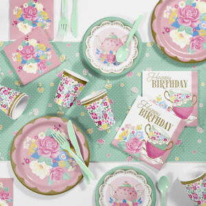 Tea Party Supplies Ebay