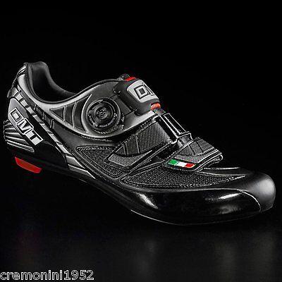 DMT scarpe bici corsa bike road shoes black nere PEGASUS BOA 41 EU USA 8 UK  7