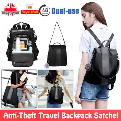 Women Girls Ladies Backpack Travel Shoulder Bag Anti-Theft Rucksack Handbag NEW
