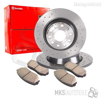 2x ATE Bremsscheibe Bremsscheiben Satz Bremsen Vorne 24.0122-0145.1