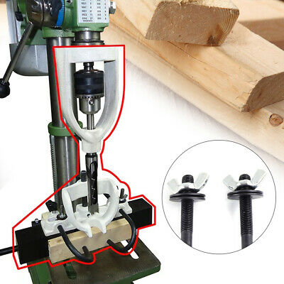 Locator Set Of Bench Drill For Mortising Chisels Tenoning Machine With 4 Bits