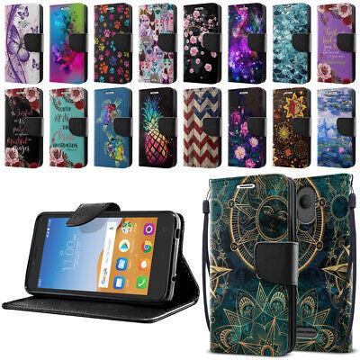 5 Id Wallet Case - For Alcatel Tetra 5