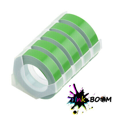 5gn Rolls Label Tape Compatible Dymo 3d Embossing Label Maker Tape 38 X 3m