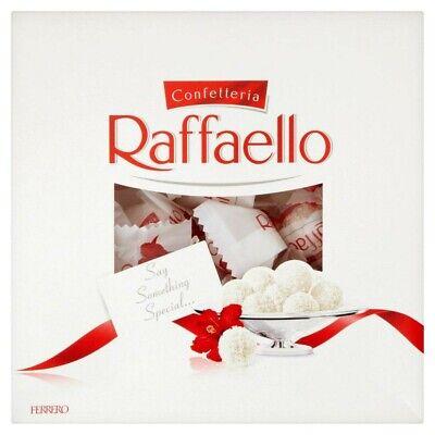 Ferrero Raffaello 240g Gift Box! 24 Pieces! White chocolate, cream, coconut, alm