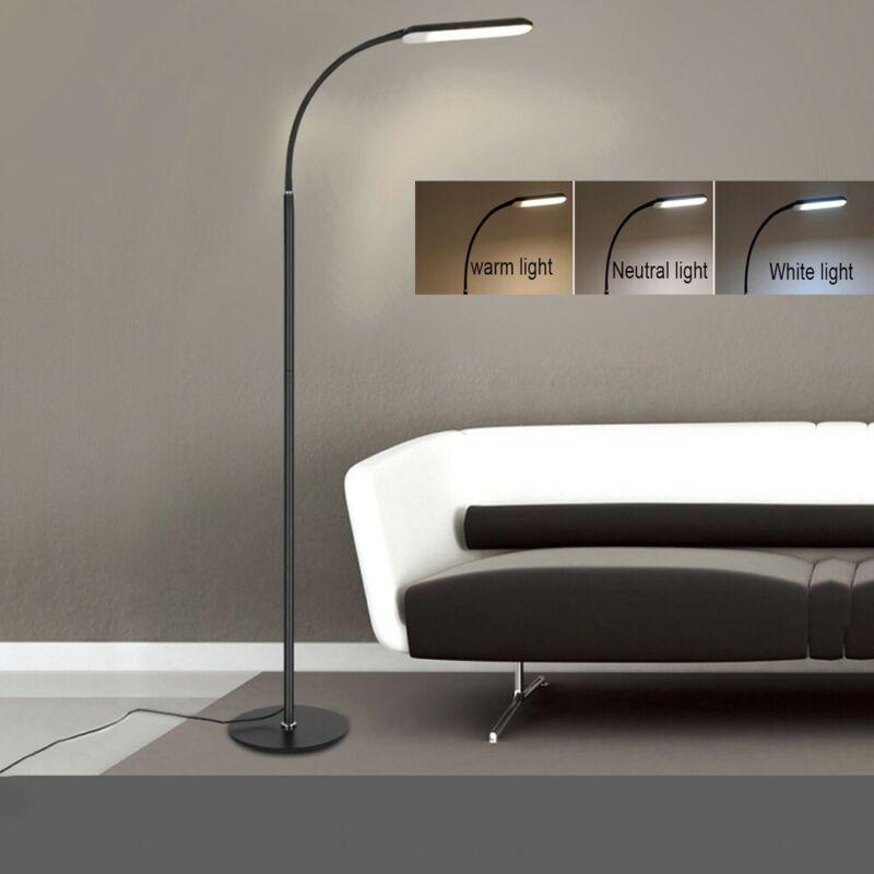 Adjustable LED Floor Lamp Light Standing Reading Gooseneck H