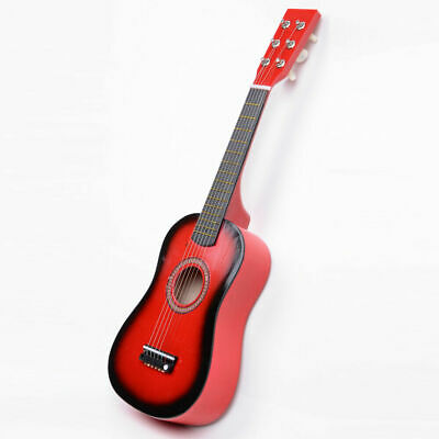 Plywood Acoustic Mini Guitar 6 String for Kids Beginners Practice Gift NEW NEW..