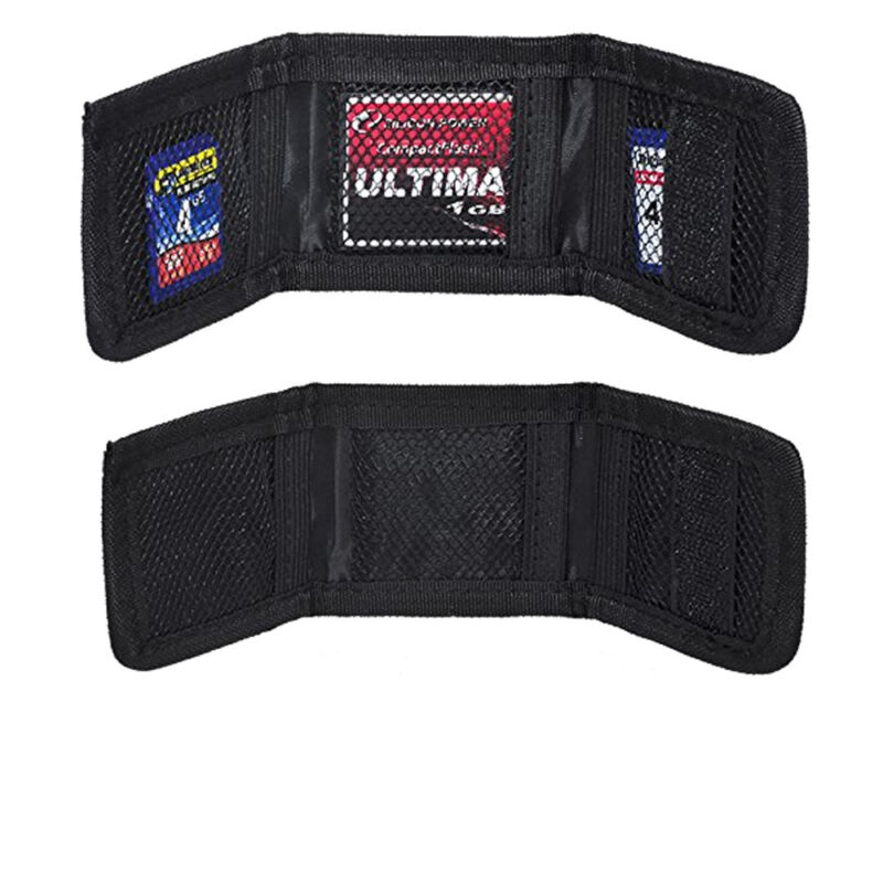 (2) Soft, Small & Foldable Poket Size Sd/sdhc Memory Card Holder