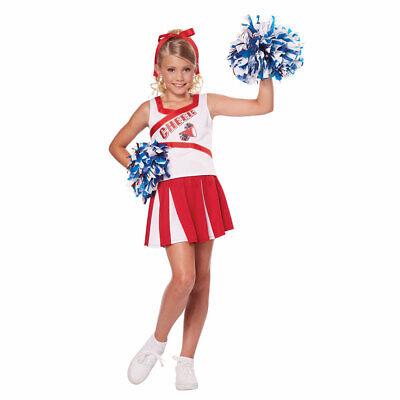 Girls High School Cheerleader Halloween Costume](Cheerleader Costume For Girl)