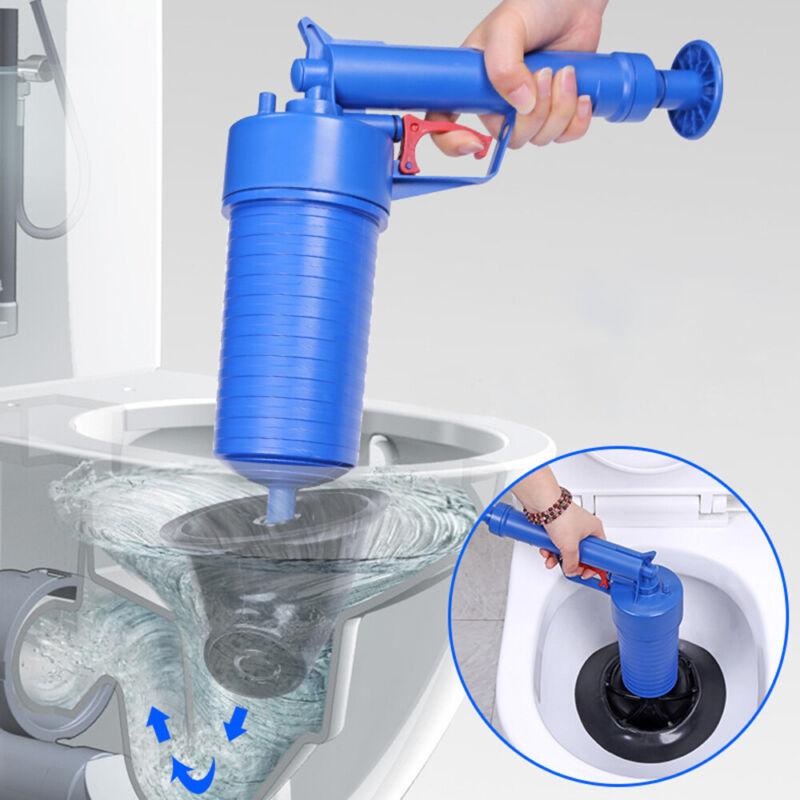 Air Power Drain Blaster Gun High Pressure Powerful Sink Plun