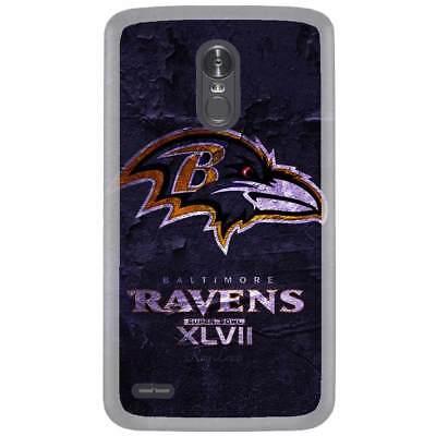 For LG Aristo Case Cover Skin Baltimore Ravens Brick Navy