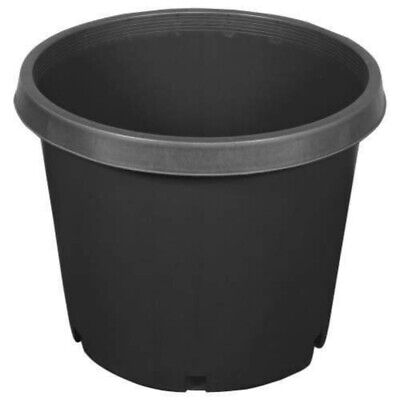 (Lot of 5) - Heavy Duty Injection Molded (Various Sizes) Large Nursery Pots Heavy Duty Nursery Pot