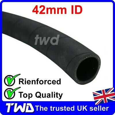 RUBBER COOLANT WATER HOSE 42mm ID EPDM 0.5 METER RIENFORCED RADIATOR PIPE -CH42
