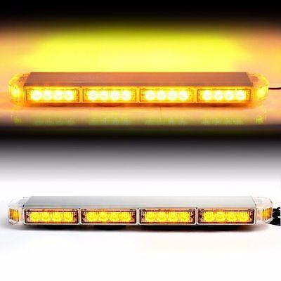 Amber 22  Led Emergency Warning Hazard Security Strobe Light Bar Off Road Sig