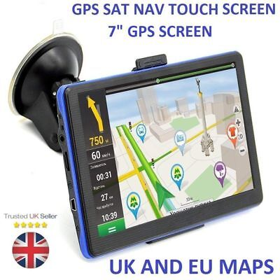 7 inch Car Truck GPS SAT NAV satellite navigation System Navigator 8GB